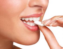 Chewing gum e salute dei denti